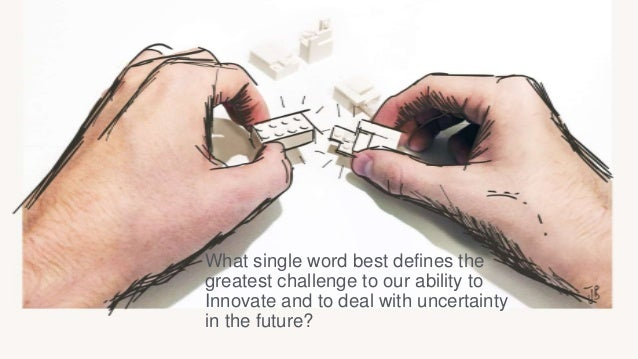 Key challenges The future is already here…