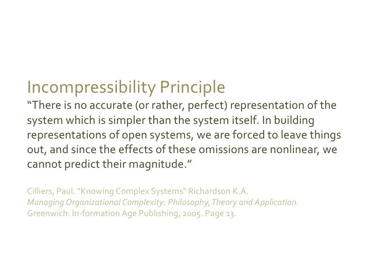 Management 3 0 Complexity Thinking