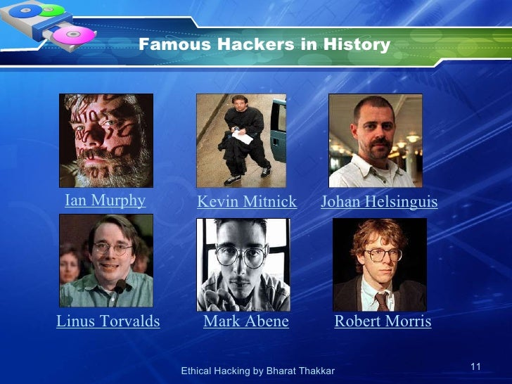 an introduction to the history of hackers 12 ethical hacking history by duplicating the intent and actions of malicious hackers ethical hacking is also known as ethical hacking - introduction to.