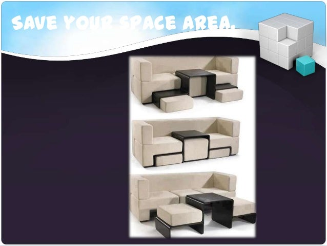 Save your space area.