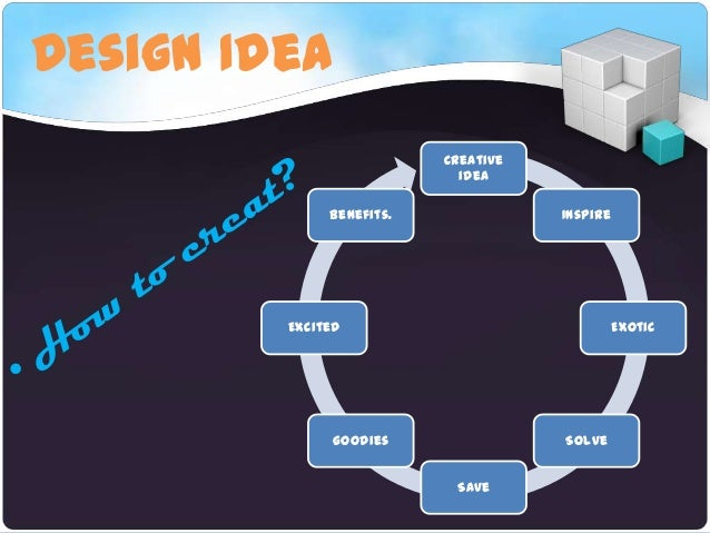 Design IdeaCreativeideaInspireExoticSolveSavegoodiesExcitedBenefits.