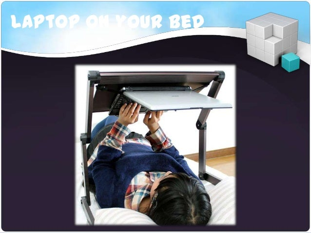 Laptop on your bed