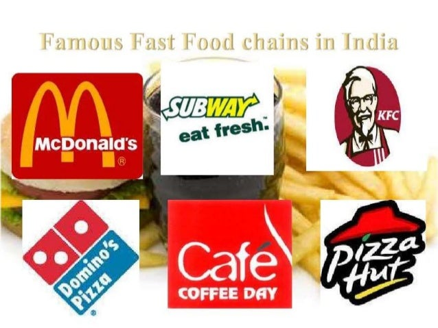 Food Restaurant Chains In India