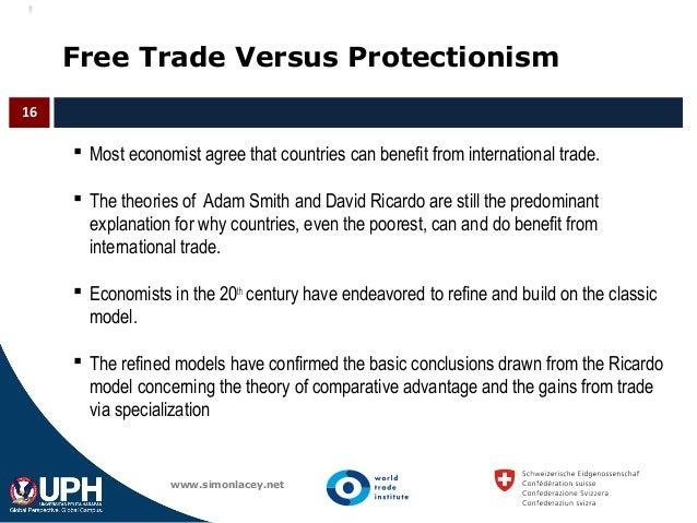 Ricardo's Theory of International Trade