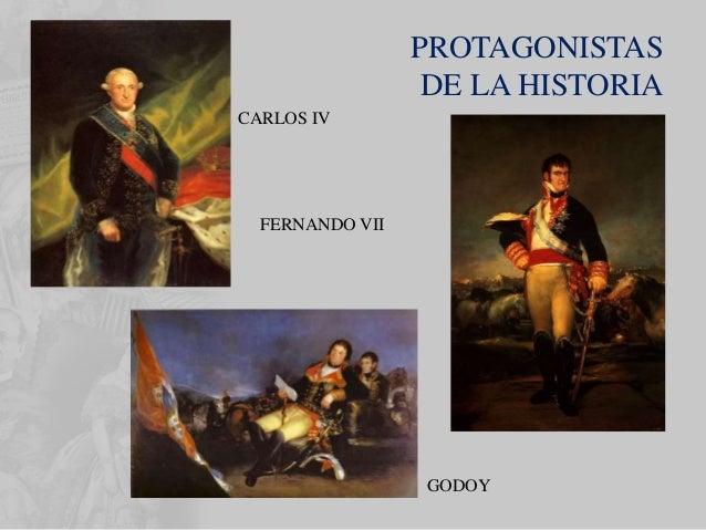 • Fernando VII y Carlos IV fueron trasladados a Bayona por mandato de Napoleón. Allí se produjeron las ABDICACIONES por la...