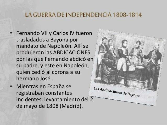 • La guerra tuvo tres fases: 1. Hasta finales de 1808 comenzó con la sublevación de Madrid. Los franceses sitiaron Zaragoz...