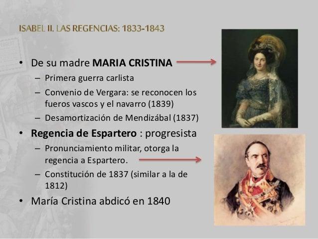• 1868 – 1870: GOBIERNO PROVISIONAL – GENERAL SERRANO : regente – Revolución de 1868 – Monarquía Constitucional • 1871 – 1...