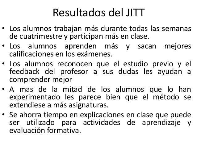 ¿Cuál es el siguiente paso al JITT? Clase interactiva • Ahora deberás pensar en actividades de aprendizaje activo para rea...