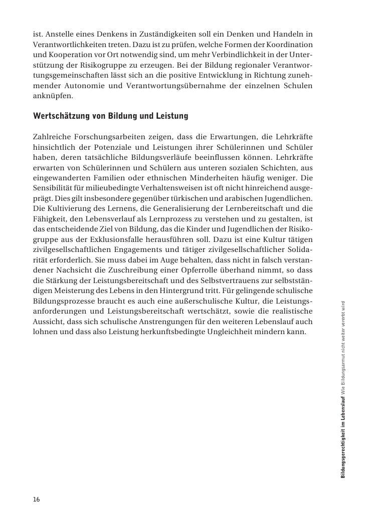 Schriftenreihe Bildung & Kultur: Bildungsgerechtigkeit im Lebenslauf
