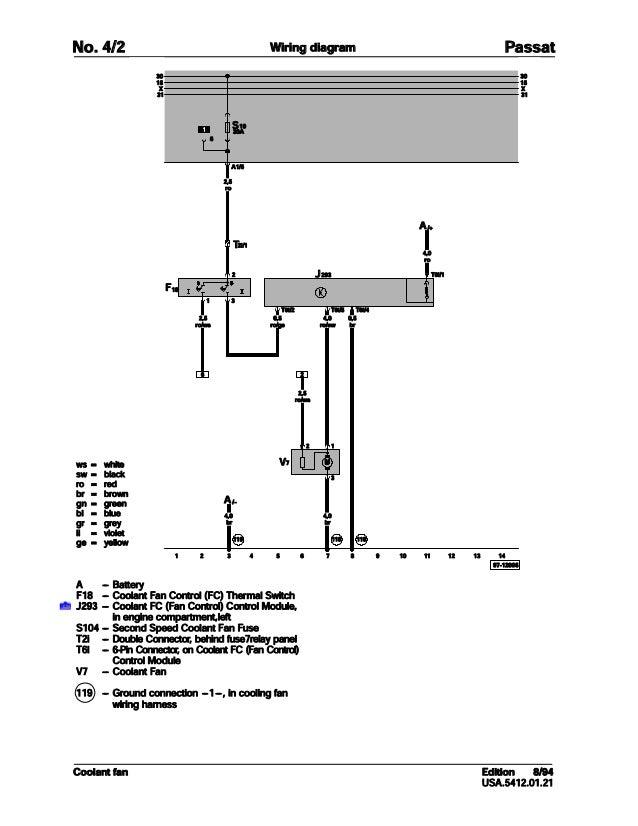 002 Volkswagen Passat Official Factory Repair Manual Wiring Diagrams