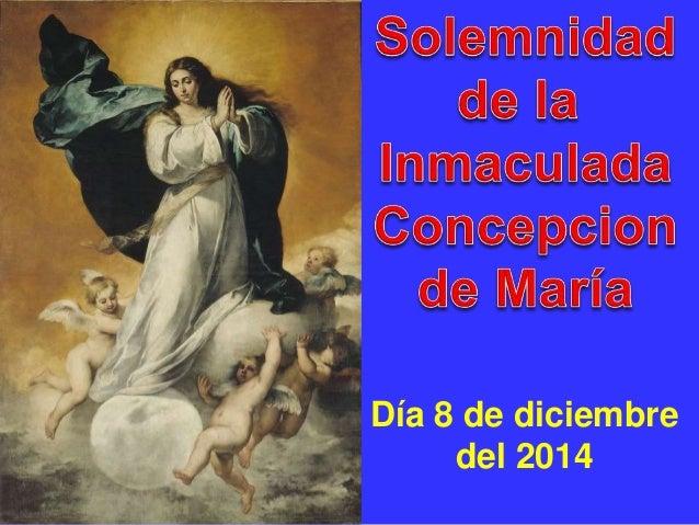 Día 8 de diciembre  del 2014