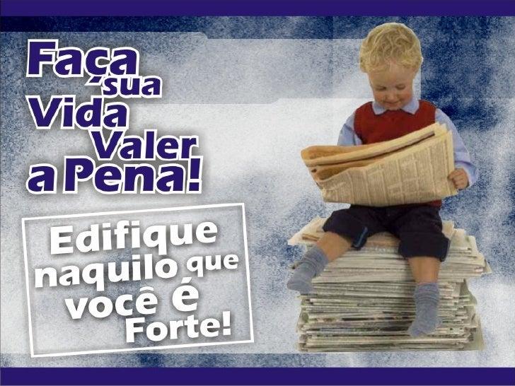 • PRIMEIRO PASSO:Decida o que é _________                importante         na vida!