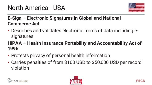 North America - USA California Consumer Privacy Act • Applies to any organization that does business in California and whi...