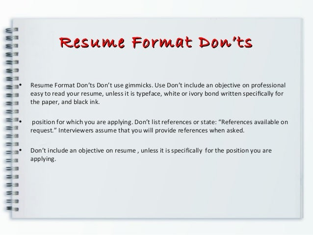 resume prepration resume writing
