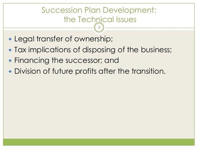 Bc business succession plan buyout