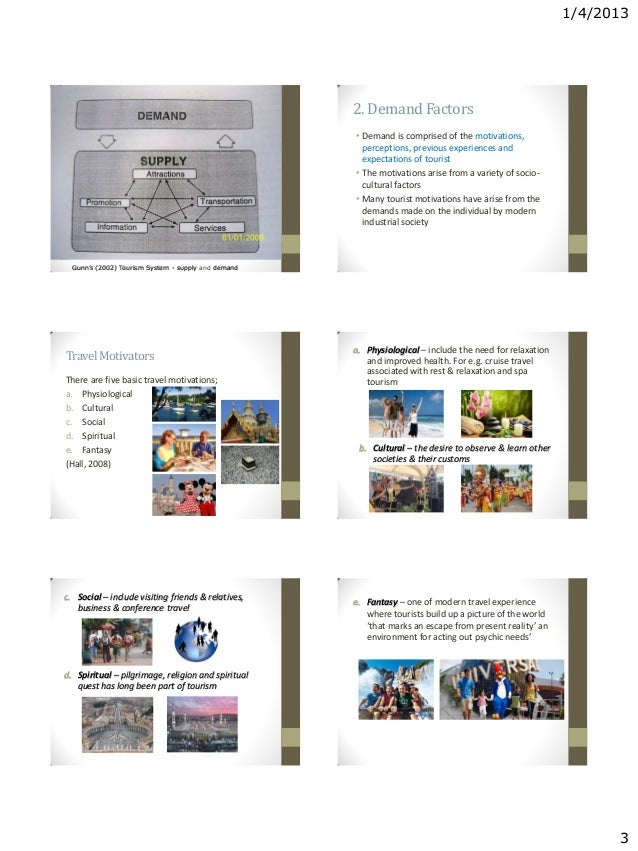 leipers tourism system The project is based on leiper's systematic approach of tourism the researcher  analyses the whole tourism system between denmark (tgr).