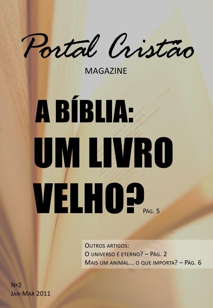 Portal Cristão Magazine 2 - Jan-Mar 2011