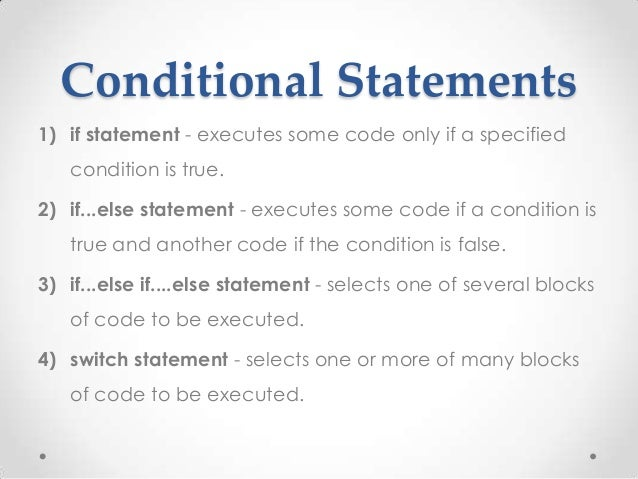 Conditional Statementfinal PHP 02