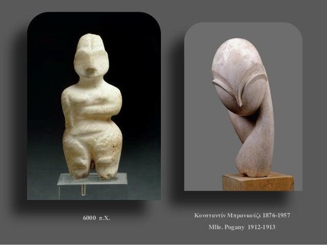 6000 π.Χ.  Κονσταντίν Μπρανκούζι 1876-1957  Mlle. Pogany 1912-1913