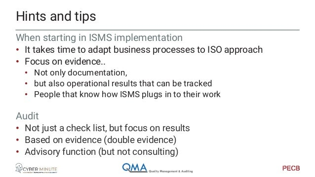 ISMS to PIMS, in practice. Getting the mind shift right…