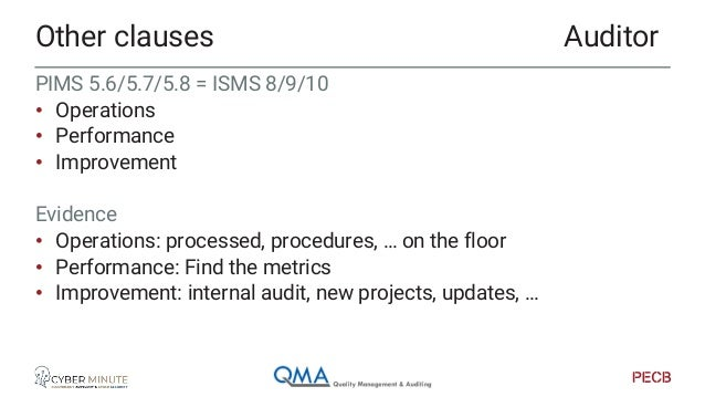To check • Policies • SOA Evidence • Setup policies / documentation • Approval of policies • Execution policies • Updates ...