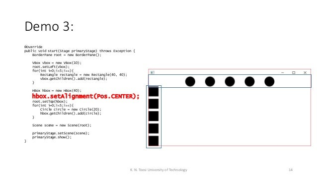 003 - JavaFX Tutorial - Layouts