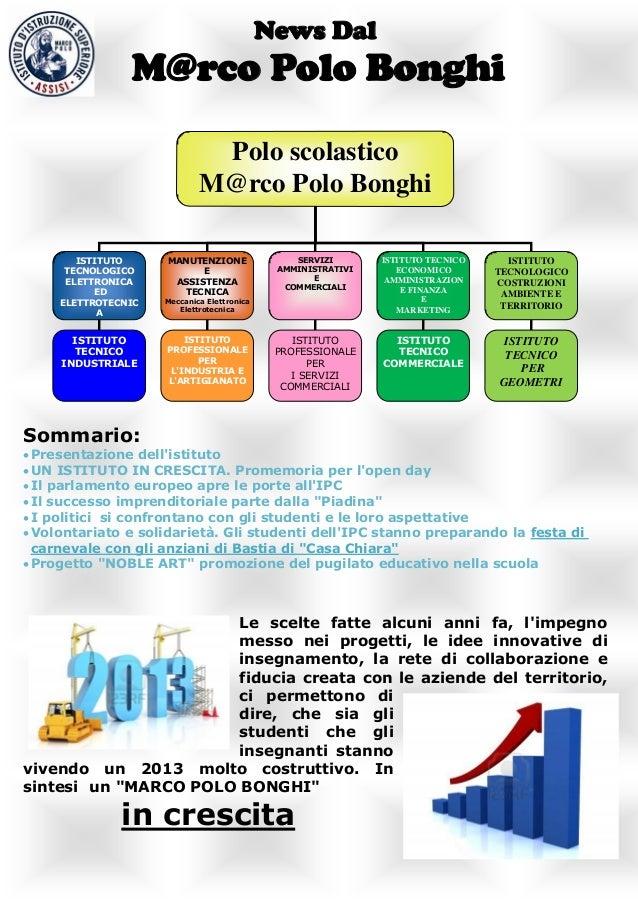 News Dal                M@rco Polo Bonghi                              Polo scolastico                             M@rco P...