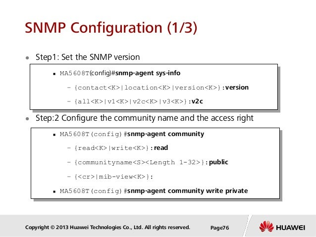 Secure Your SNMP!!