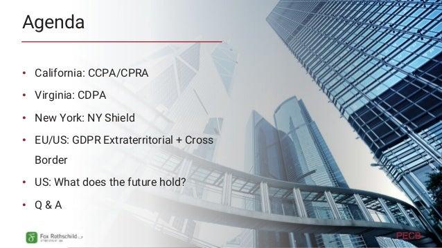 Key Issues in CCPA/CPRA
