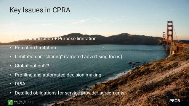 Key Issues in VA CDPA