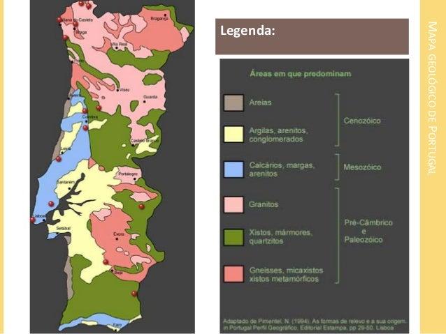 mapa das rochas em portugal Ambiente sedimentar: formação, tipos de rochas e paisagens mapa das rochas em portugal