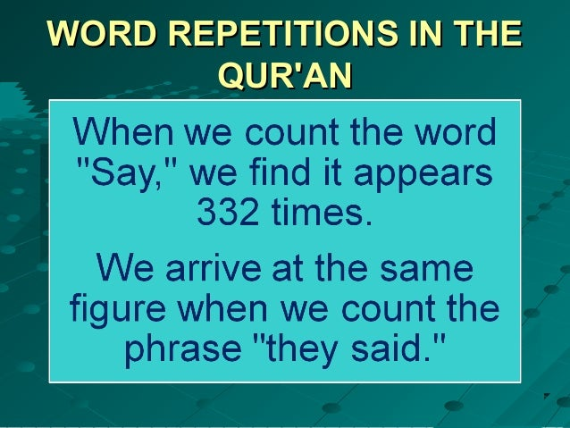 003 the 19- miracle of 19 in the qur'an