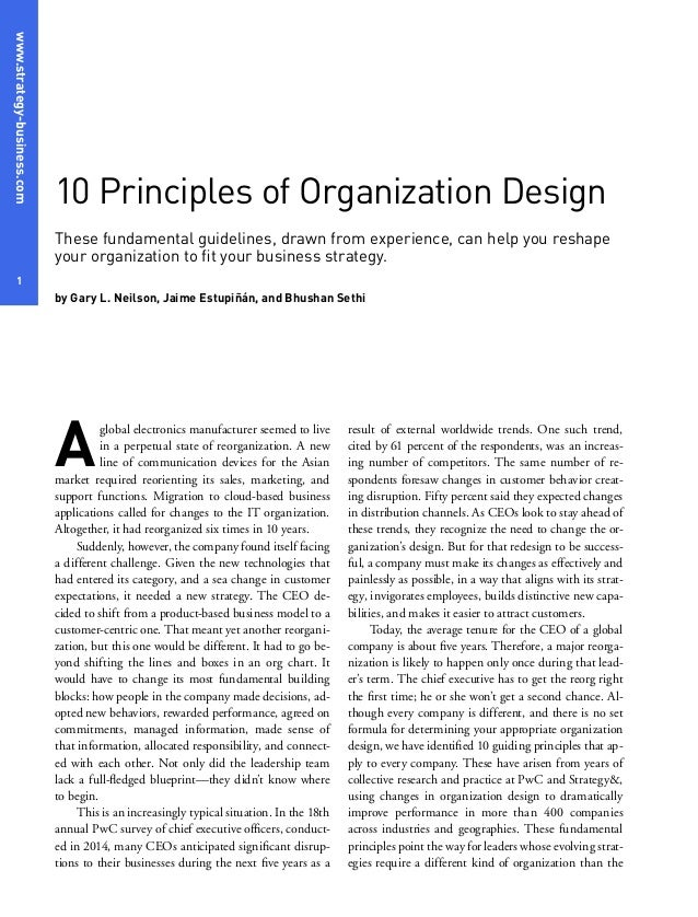 fundamentals of management organizational environment Organization fundamentals  there are many different definitions of organization development  what comprises the external environment of an organization what is .