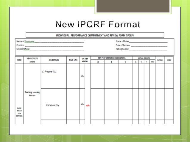 IPCRF presentation