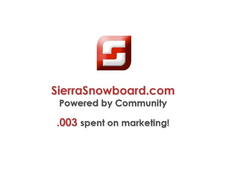 SierraSnowboard.com