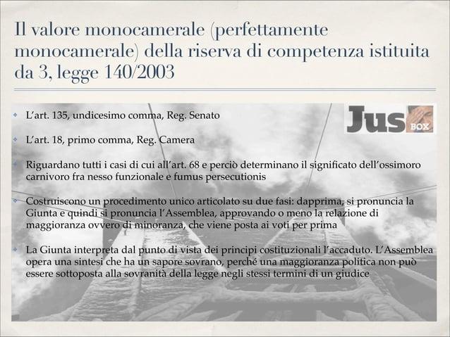 Art. 4, legge 140/2003