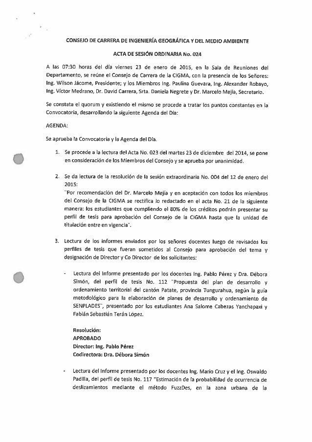 Acta N°024