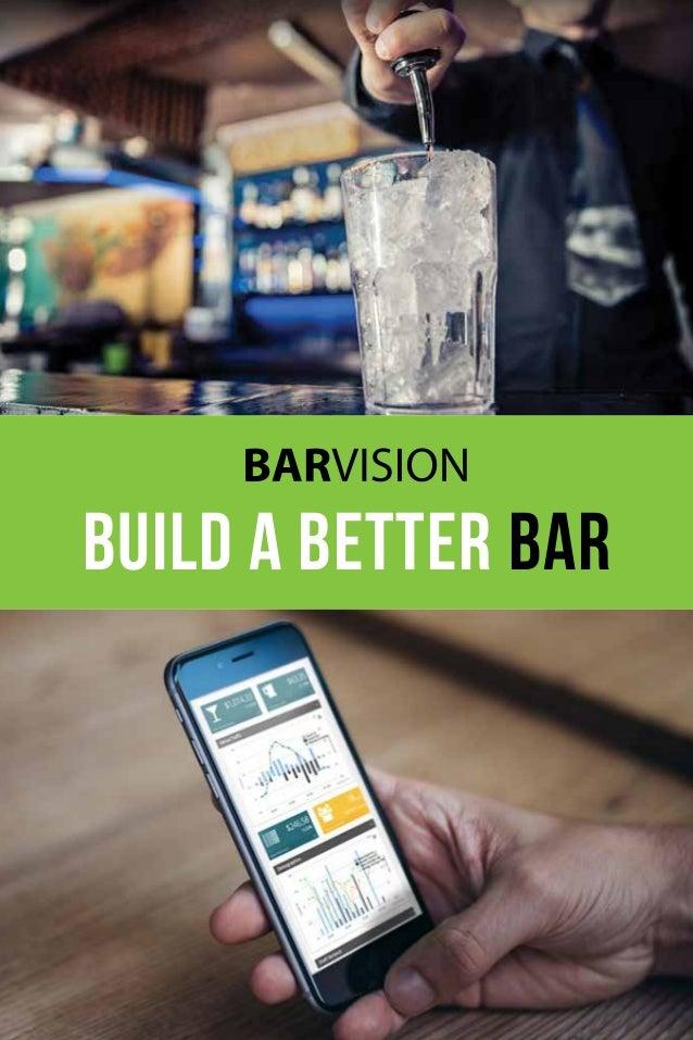 build a better bar