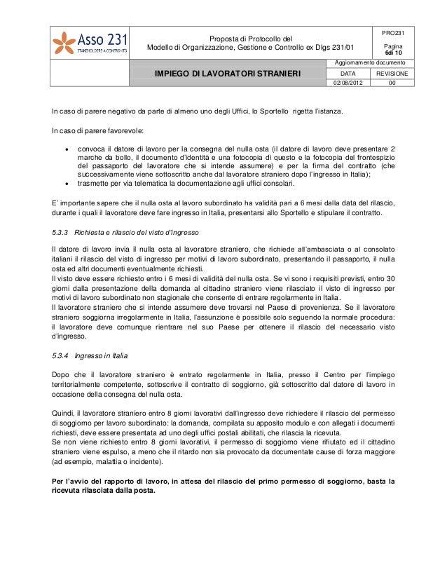PRO231-Procedura_Impiego_di_lavoratori_stranieri-Pubblicata_Rev_00bis