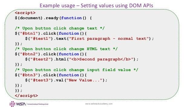 JQuery | Set the value of an input text field - GeeksforGeeks