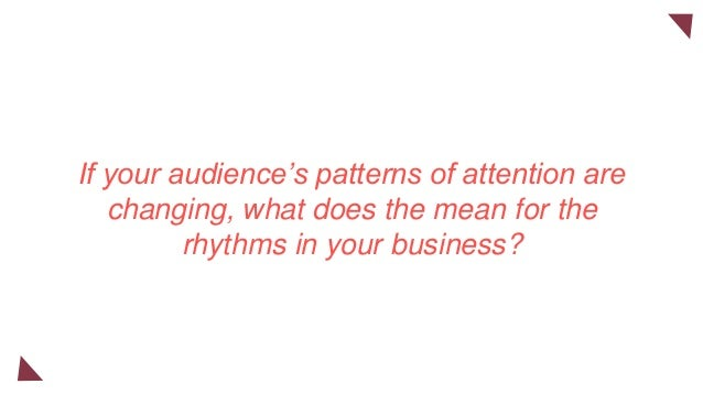 Rhythm is so deeply embedded in an industry that insiders rarely notice it