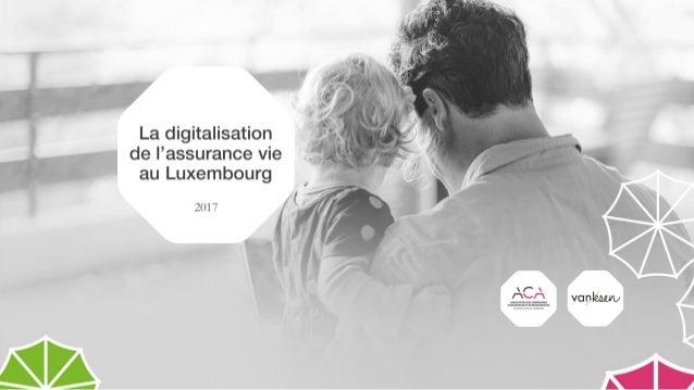 La digitalisation de l'assurance vie au Luxembourg