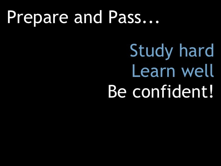 how to read and understand for exams