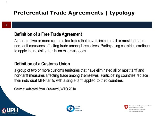 An Introduction To Regionalism And Wto Rules On Preferential Trading