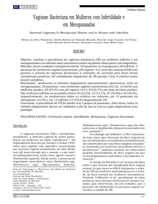 RBGO 23 (10): 641-646, 2001                                                                                               ...