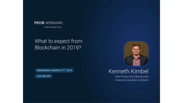 Agenda • Brief Introduction • Historic Use Cases • What to Expect from Blockchain Technology in 2019 and Beyond