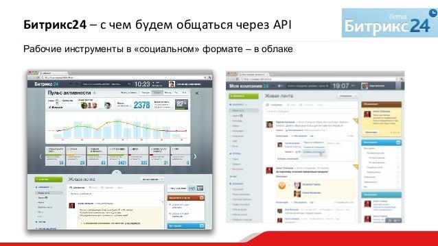 """""""API «Битрикс24» — разбор с пристрастием"""". Александр Сербул, 1С-Битрикс Slide 3"""