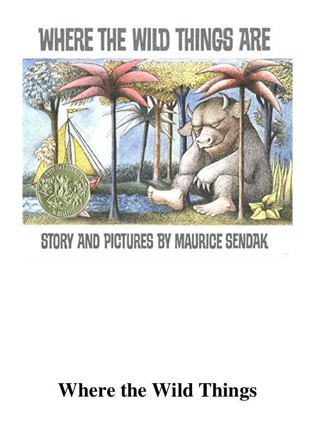 Maurice Sendak Where The Wild Things Are Pdf