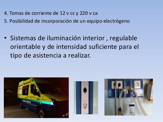 Del transporte sanitario y dotacion - Sistemas de iluminacion interior ...