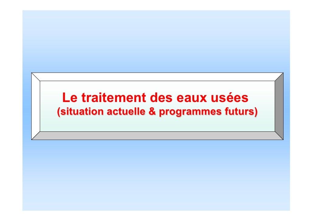 006a ncwrm 2011 nasr onas tunisia - Lagunage des eaux usees ...